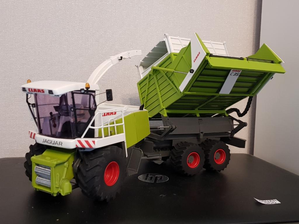Claas Jaguar Field Shuttle C35 CSL