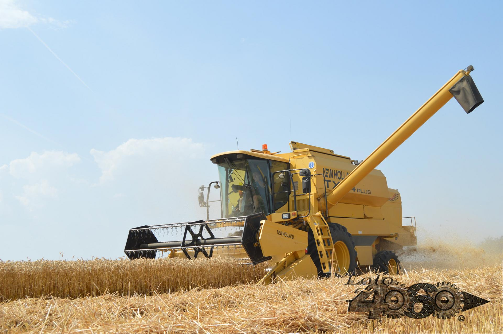 New Holland Tx64 plus