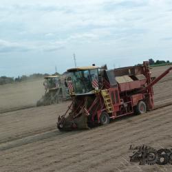 Depoortere flax seed harvester x2