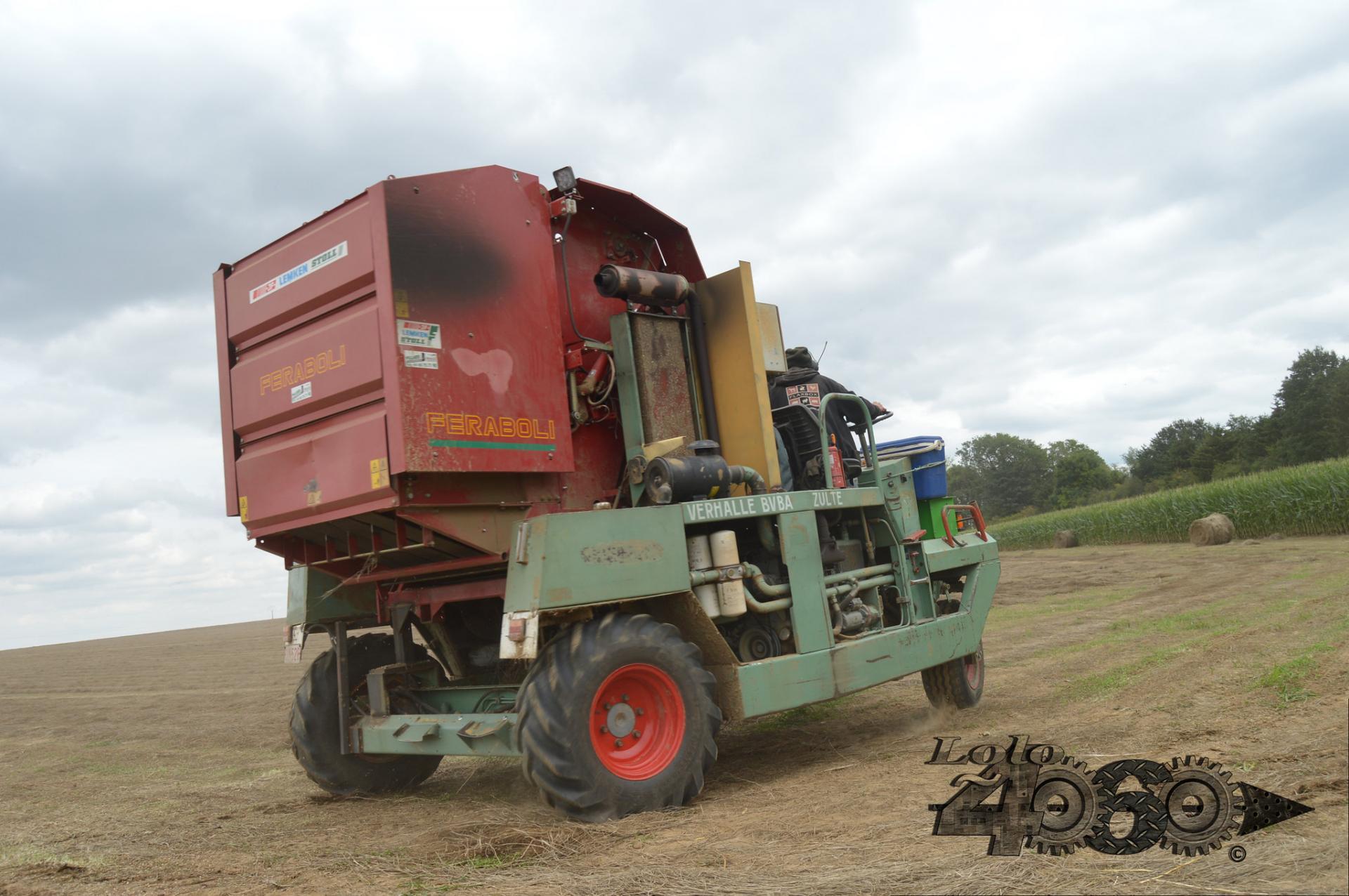 Depoortere flax baler